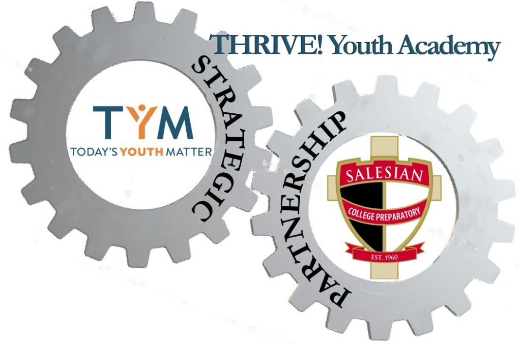 Thrive Partnership Salesian Brand